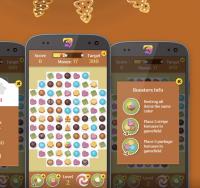 Choco World. Android, дизайн игры