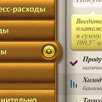 """Финансовое приложение """"Деньги ОК"""", iPhone5, часть 1"""