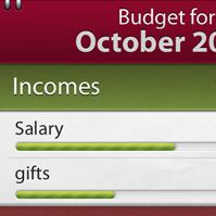 Budget - Bill Reminder, Expense Tracker, Budget Planner, iPhone 4