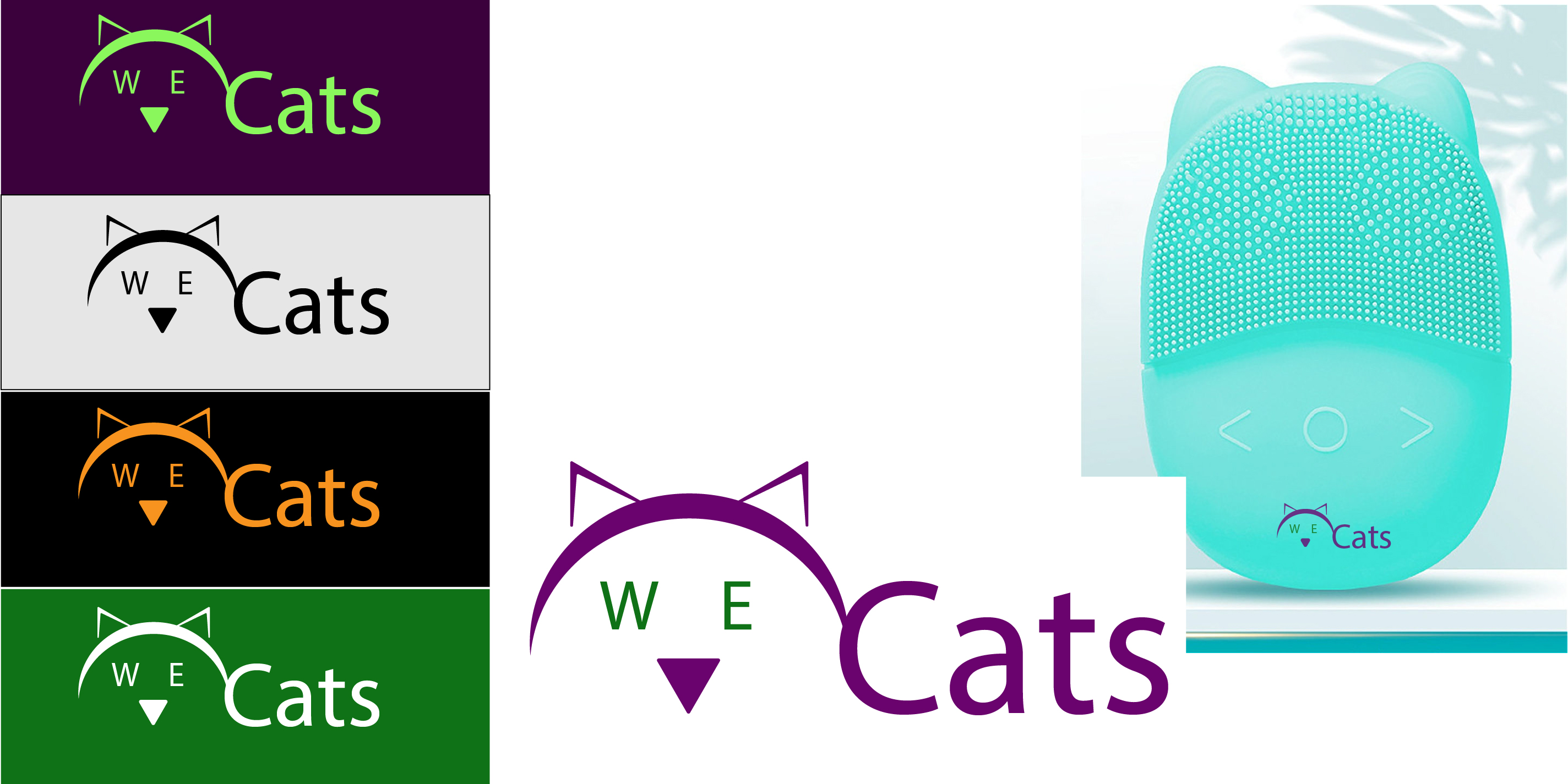 Создание логотипа WeCats фото f_8755f1ccdd7b0385.jpg