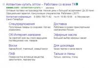 """Создание РК """"под ключ"""" для магазина косметических хим.компонентов (1204 фразы)"""