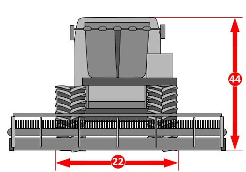 Векторный трактор