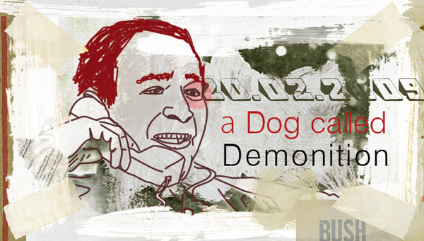 a dog called demonition