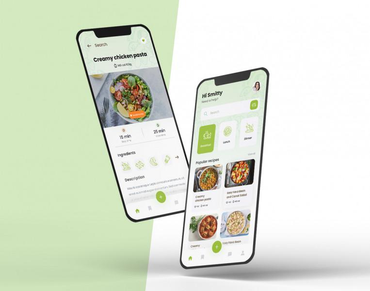мобильное приложение рецепты (в рамках конкурса)