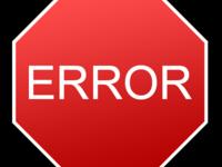 Исправление ошибок сайта