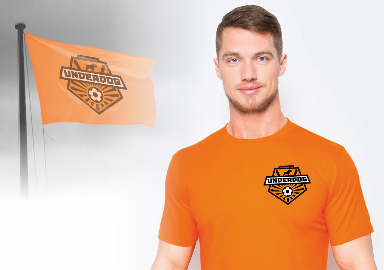 Футбольный клуб UNDERDOG - разработать фирстиль и бренд-бук фото f_2785cb3f358ef0e7.png