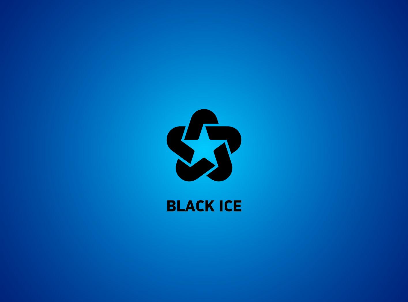 """Логотип + Фирменный стиль для компании """"BLACK ICE"""" фото f_53056e30eb1ed98f.jpg"""