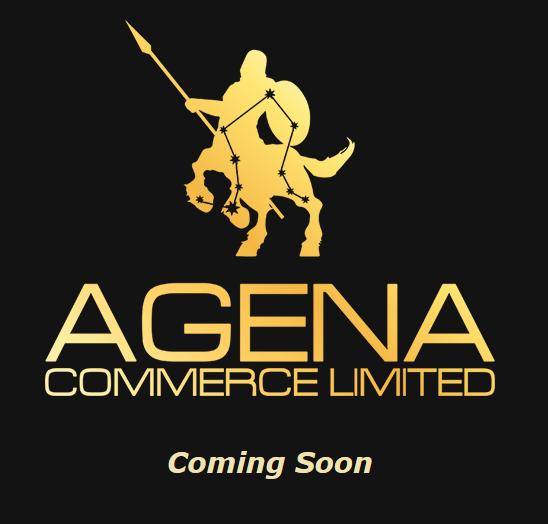 Заглушка для сайта Agena [responsive]