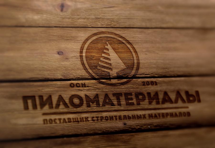 """Создание логотипа и фирменного стиля """"Пиломатериалы.РФ"""" фото f_254530cef888fce2.jpg"""