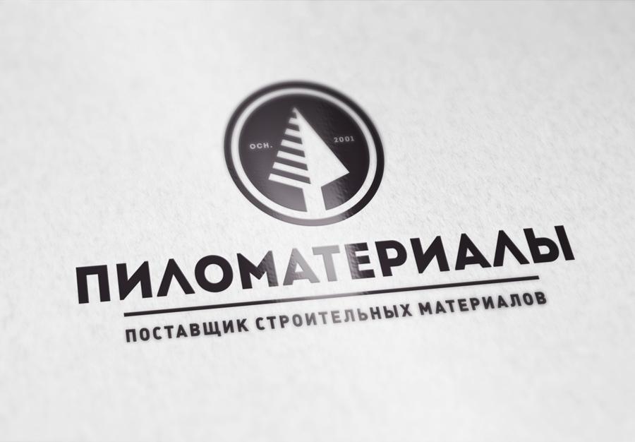 """Создание логотипа и фирменного стиля """"Пиломатериалы.РФ"""" фото f_488530cef8f97470.jpg"""