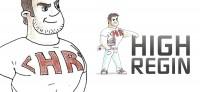 Персонаж Рэджин для компании High Regin