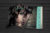 Меню-журнал для салона красоты