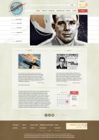 сайт-визитка музея Гагарина
