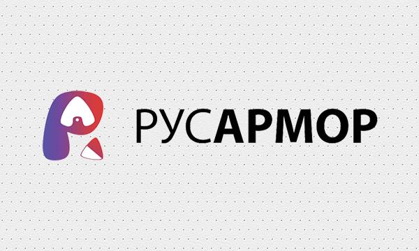 Разработка логотипа технологического стартапа РУСАРМОР фото f_8855a0c94cc3cf6f.png