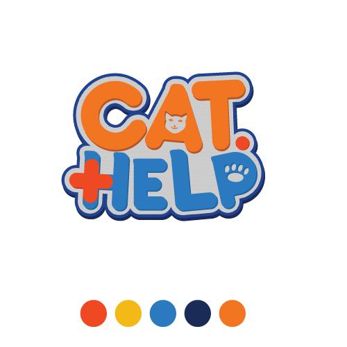логотип для сайта и группы вк - cat.help фото f_16059db8ce66956b.jpg