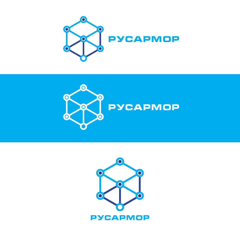 Разработка логотипа технологического стартапа РУСАРМОР фото f_3505a0746db66fb5.jpg