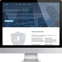 Landing Page: SIP Technology