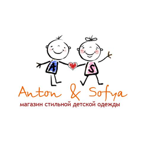 Логотип и вывеска для магазина детской одежды фото f_4c8638381334b.jpg