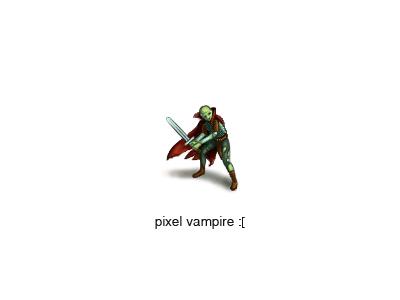 Околопиксельный вампир