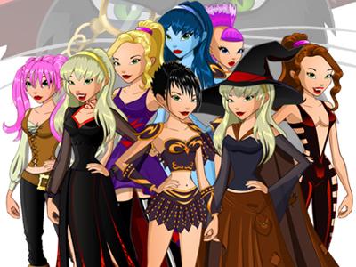 Девочки из дневников колдуньи