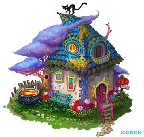 Ведьмин домик