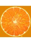 Апельсин. 100 на 100 пикселей.