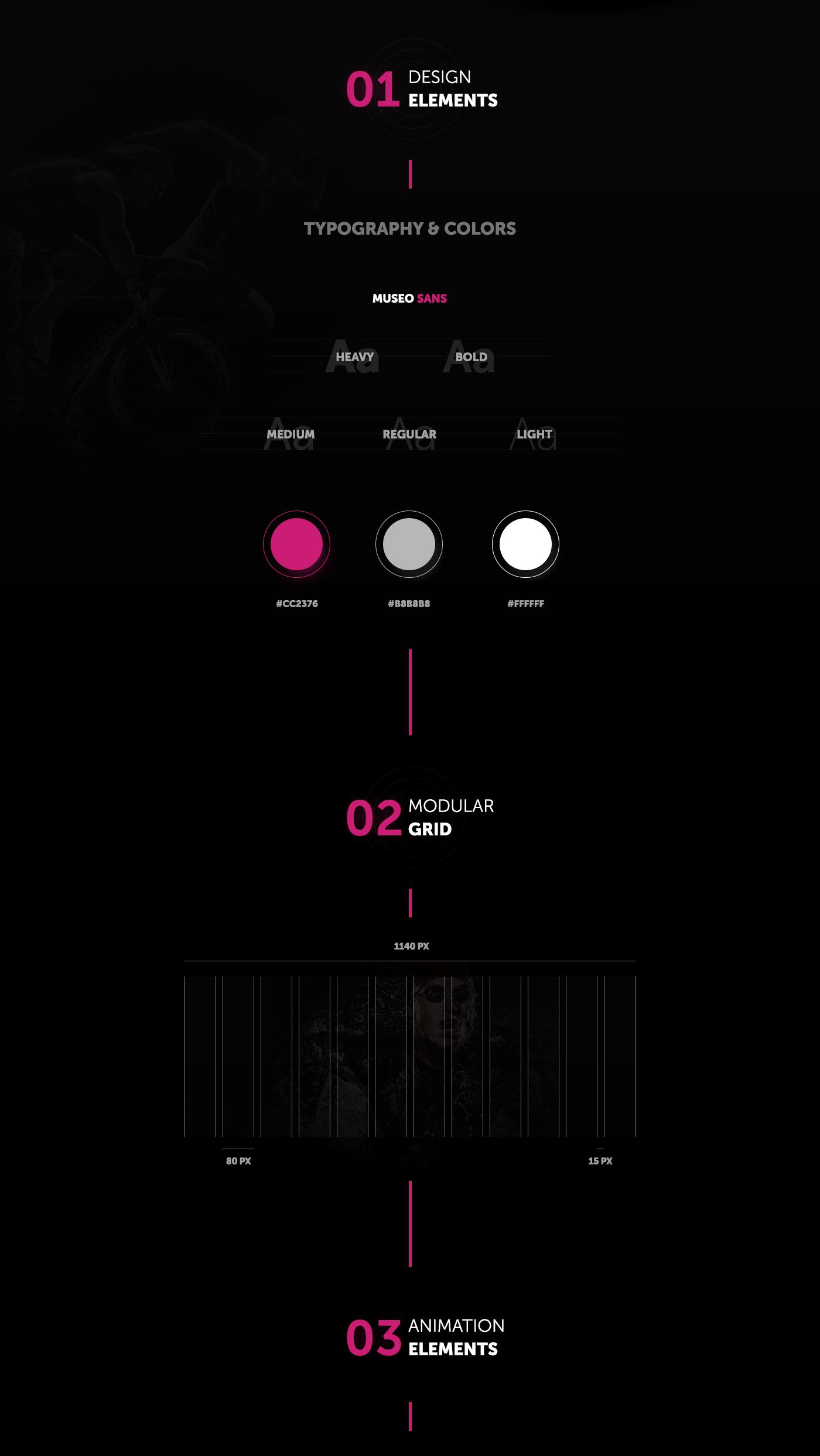 Design concept landing page for app | 3GO