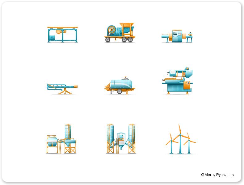 Иконки для АзияИмпорт