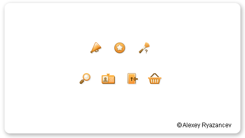 Иконки для RedMall
