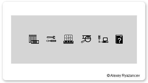 Иконки для программы видеонаблюдения
