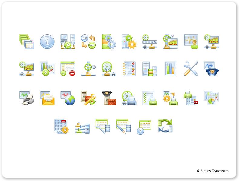 Иконки для программы SurfCop