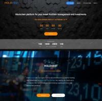 Landing Page на Yii2 по тематике ICO