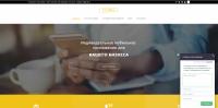 Сайт-визитка услуг дизайна для мобильных приложений