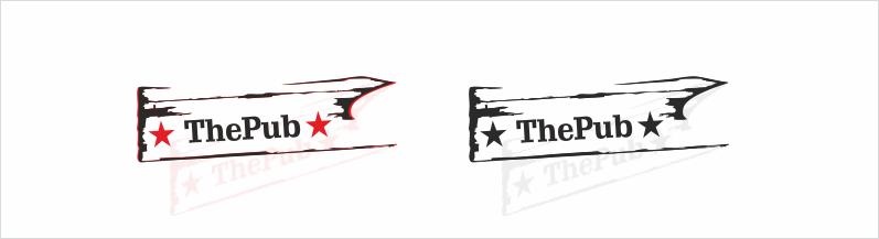 """Разработка логотипа торговой марки """"THEPUB"""" фото f_46451df022937727.png"""
