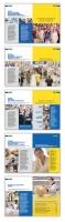 Проект корпоративного буклета METRO