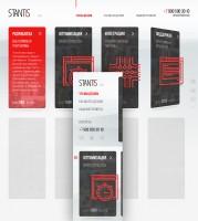 Адаптивный дизайн сайта-визитки - Stantis