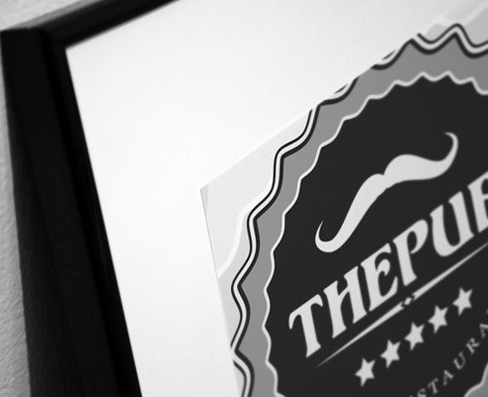 "Разработка логотипа торговой марки ""THEPUB"" фото f_94851f3c9576f0f6.jpg"