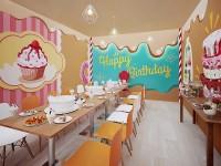 """Комната для празднования дней рождений """"Пряничный домик"""""""