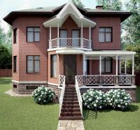 Дом кирпичный
