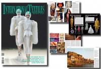допечатная подготовка журнала International Textiles