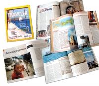 Дизайн, верстка, препресс журнала NationalGeographic TRAVELER (армянская версия)
