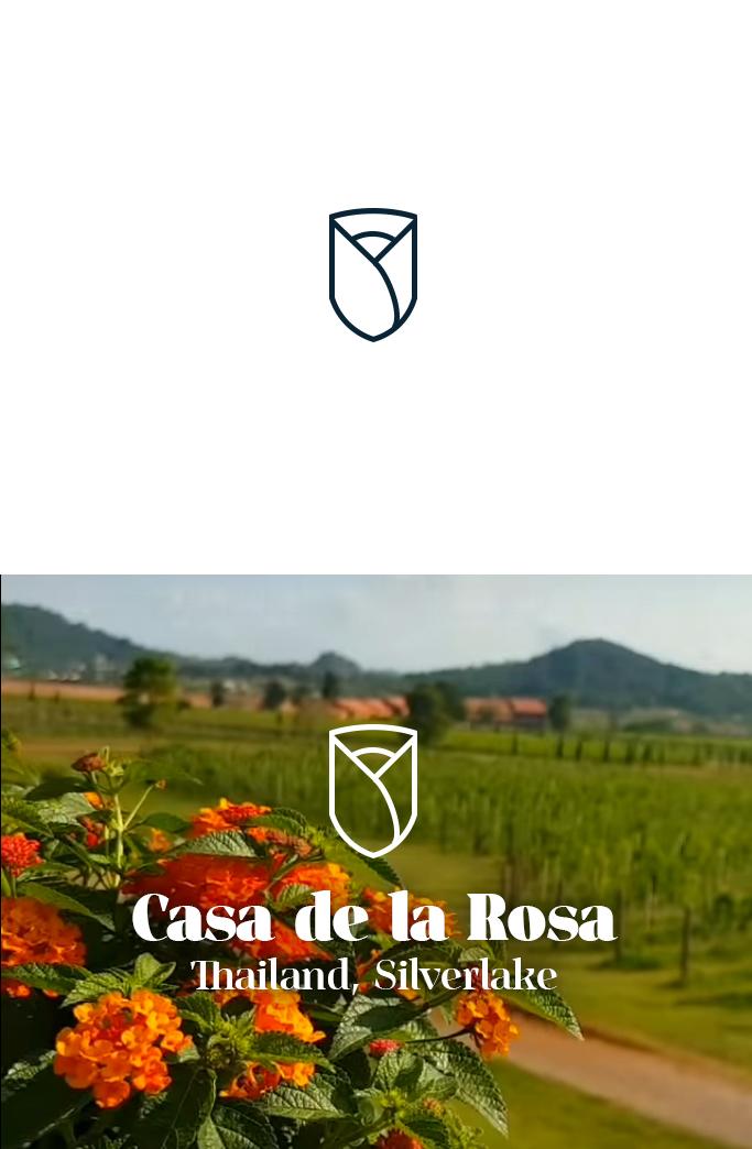 Логотип + Фирменный знак для элитного поселка Casa De La Rosa фото f_3785cd445328ab43.jpg