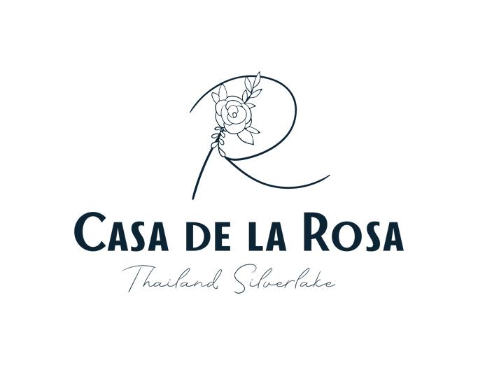Логотип + Фирменный знак для элитного поселка Casa De La Rosa фото f_4605cd5574677141.jpg