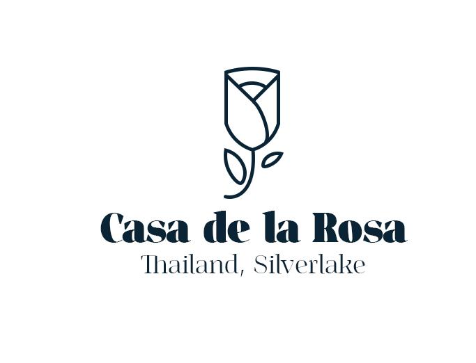 Логотип + Фирменный знак для элитного поселка Casa De La Rosa фото f_9865cd55741bc68b.jpg