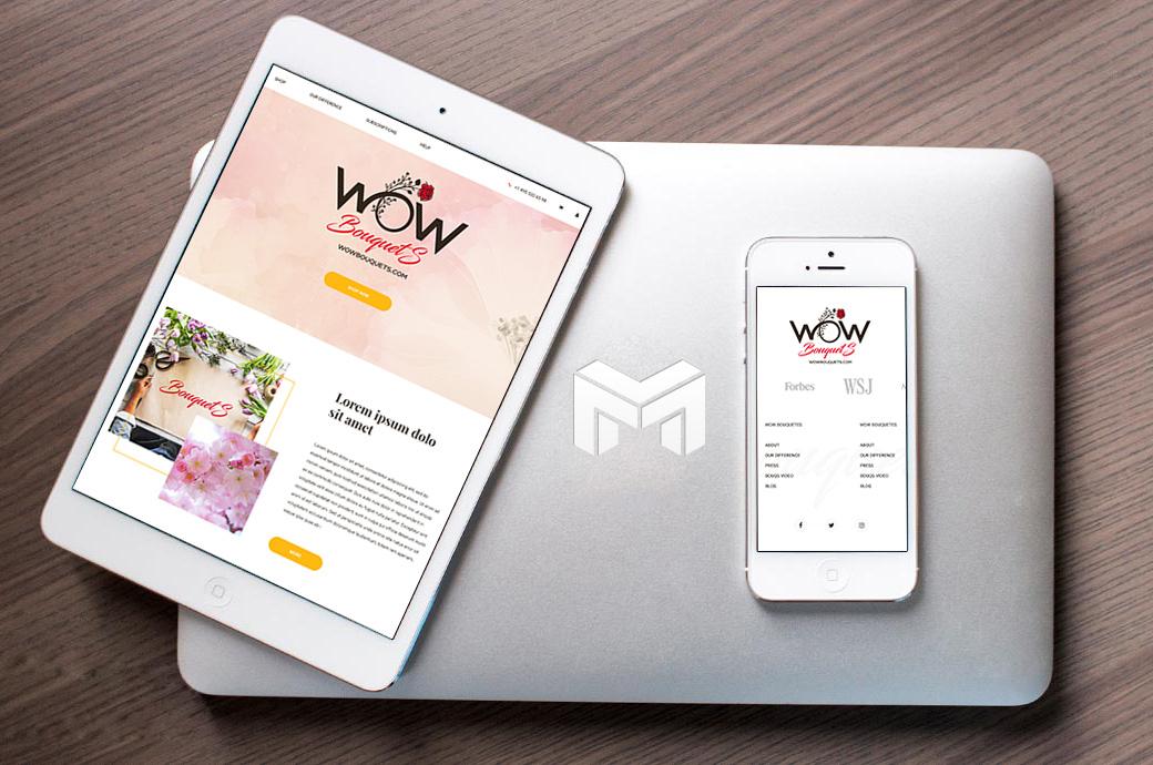 Разработка Интернет-Магазина Для Доставки Цветов