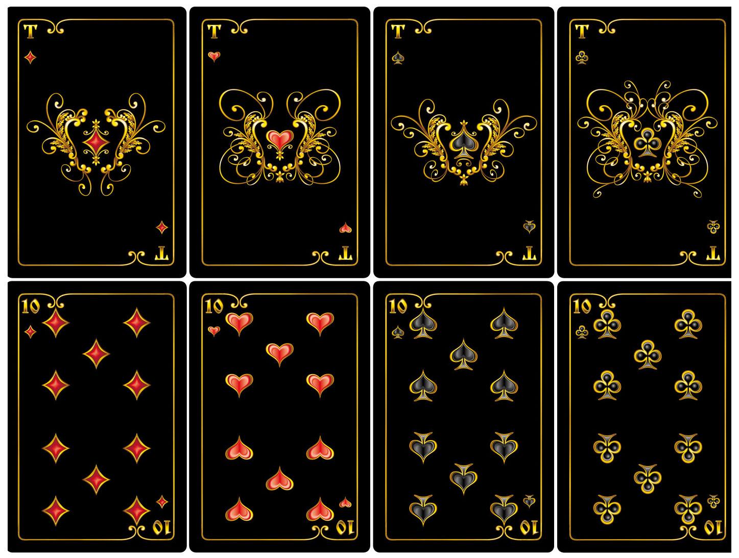 Подарочный набор игральных карт