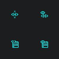 Иконки для программного интерфейса