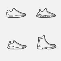 Иконки Solefrsh (чистка и восстановление обуви)