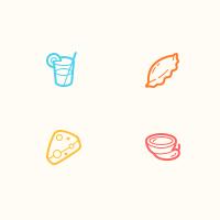 Иконки для сайта грузинской кухни