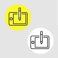Иконки для дизайн-студии